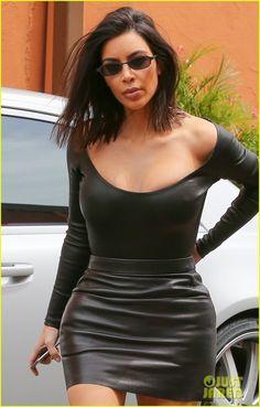 Kim Kardashian Gets 'Matrix' Inspired for Lunch With Kourtney