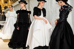 Behind the scenes at Chanel from Paris couture week.