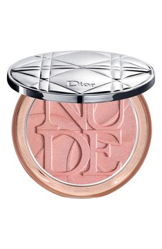 Shop Dior's Diorskin Nude Luminizer Shimmering Glow Powder at Sephora. A powder infused with shimmering pigments for an ultra-luminous complexion. Sephora, Beauty Blender, Dior Makeup, Beauty Makeup, Nude Makeup, Drugstore Makeup, Luminizer, Charlotte Tilbury Pillow Talk, Eye Makeup Tips
