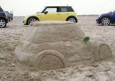 Mini Sand Sculpture.