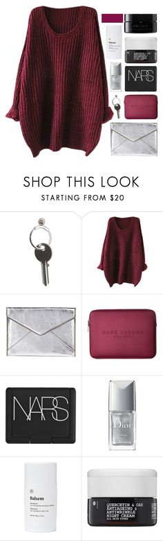 """I KNOW HOW BAD IT MUST HURT"" by constellation-s ❤ liked on Polyvore featuring Maison Margiela, Rebecca Minkoff, Marc Jacobs, NARS Cosmetics, Christian Dior, Balsem, Korres and arbÅ«"