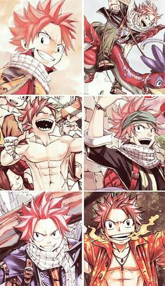 Natsu Dragneel the hottest in Fairy Tail because he has fire dragon slayer magic and he's just awesome and so cute. Fairy Tail Nalu, Fairy Tail Love, Fairy Tail Ships, Anime Yugioh, Anime Pokemon, Manga Anime, Anime Art, Fairytail, Zeref