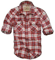 Great for spring. Hollister Men Shirts HCO-MSHI051