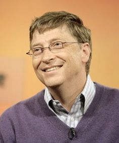 Bill Gates - You cant help but admire what he does to help so many people around the world.