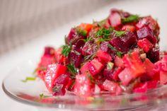 Salat Vinaigrette, rote Bete Salat Vinaigrette, Bruschetta, Fruit Salad, Salsa, Food And Drink, Mexican, Baking, Ethnic Recipes, Sauerkraut