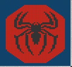 Tricksy Knitter Charts: spider-man (73388) (79281) (81528) (81813) by shayes0015