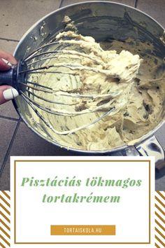Pisztáciás, tökmagos tortakrém receptem – Tortaiskola