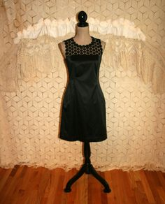 LBD XS Small Little Black Dress Black Midi Dress by MagpieandOtis