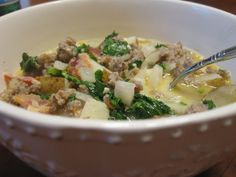 Zuppa Toscana Soup {Olive Garden} - The Best Copy Cat Recipe