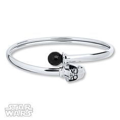 Star Wars Onyx Bracelet Darth Vader Sterling Silver