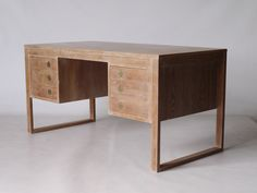 Danish design desk manufactured by Dyrlund 1970s. Sold by Merzbau.