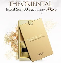 Skin79 The Oriental Moist Sun Pact Plus.    The Oriental Moist Sun Pact BB combines the features of a BB Cream with a powder, which is why it is suitable for both dry and oily skin types.
