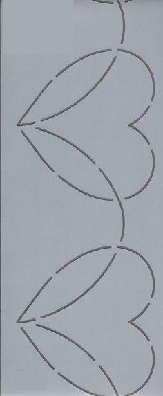 32868571584 Οι 40 καλύτερες εικόνες του πίνακα Στένσιλ | Quilts, Stencils και ...