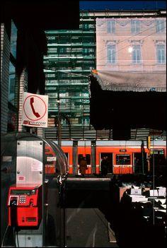 Harry Gruyaert. Piazzale Flaminio 2000 Roma