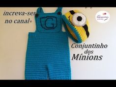 Conjuntinho dos mínions - YouTube Crochet Baby, Gloves, Exercise, Babies, Fashion, Toddler Dress Up Clothes, Crochet Baby Clothes, Baby Coming Home Outfit, Crochet Minions