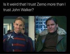 The Most Hilarious John Walker (New Captain America) Memes