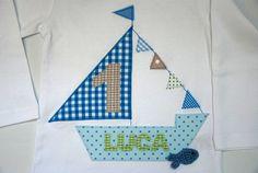 Geburtstagsshirt mit Namen wohnzwerg http://de.dawanda.com/product/35243801-geburtstagsshirt-kleiner-kapitaen-wird-1