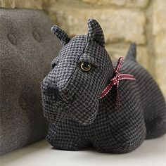 Cambpell the Scottish dog door stop from Strawberry Fool