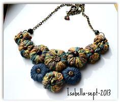 Crochet Necklace - Beautiful!! By Isabella Gaspar Juit
