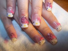 Hello Kitty Nail Design 2013: Hello Kitty Nail Design Ideas Hipsterwall ~ frauenfrisur.com Nails Inspiration