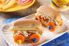 Receita de Sanduíche carrinho em receitas de paes e lanches, veja essa e outras receitas aqui!