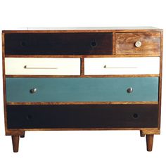 Wooden chest of drawers by House Doctor DK