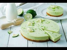 No-Bake Avocado Lime Cheesecake - Chef Sheilla