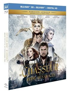 Le Chasseur et la Reine des Glaces Combo Blu-ray 3D + Blu-ray 2D: Amazon.fr: Chris Hemsworth, Charlize Theron, Jessica Chastain, Emily Blunt, Nick Frost, Rob Brydon, Cedric Nicolas-Troyan: DVD & Blu-ray