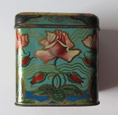 Antique Tea Tin Boxes Ridgways and Chinese Tea