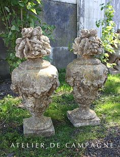 Concrete Finials   Just Waiting For A Home!