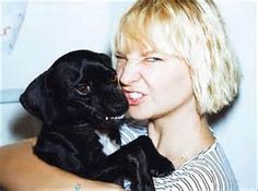sia and her dog