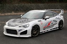 Chargespeed GT86 BRZ FRS Type 1 Body Kit