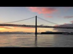 Pink skies and water Eyespiration, day 3 Bay Bridge San Francisco #mindfulness #photography #book #course #workshop