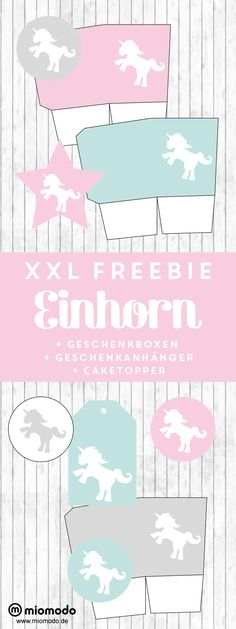 Einhorn Freebie