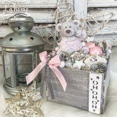 Holidays And Events, Handmade Christmas, Decorative Boxes, Shabby, Home Decor, Ornaments, Decoration Home, Room Decor, Home Interior Design