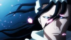 Kuchiki Byakuya - Scene from the Playstation 3 video game Bleach Soul Resurreccion. Own it!