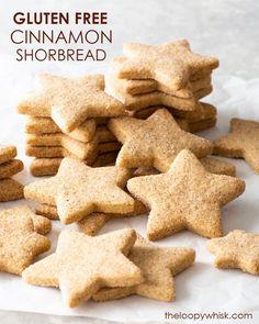 Gluten Free Shortbread Cookies, Gluten Free Chocolate Chip Cookies, Shortbread Biscuits, Dairy Free Cheesecake, Raw Cheesecake, Best Gluten Free Desserts, Gluten Free Baking, Christmas Biscuits, Christmas Cookies