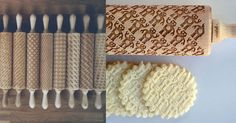 These are the Coolest Rolling Pins Ever, one looks almost like the Swita pattern :)