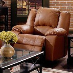 Palliser Furniture Delaney Wall Hugger Recliner Upholstery: Bonded Leather - Champion Mink, Leather Type: Bonded Leather, Type: Power