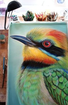 Amazing PanPastel work by Joanne Barby