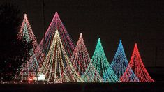 If you are looking for the ultimate centerpiece for your Christmas display, look no further than the 'mega tree'. Since you design and build them yourself, mega trees can fit into any sized yard. Christmas Light Show, Christmas Time Is Here, Christmas Holidays, Christmas Stage, Nutcracker Christmas, Winter Holidays, Xmas Lights, Holiday Lights, Christmas Projects