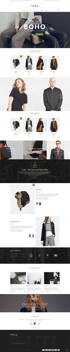 Leka WordPress WooCommerce Theme has ideas and inspiration for all types of ecommerce stores, including: Fashion, Shoes, Jewelry, Watch, Hi-tech,…and more. Based on the latest Foundation technology, this WordPress WooCommerce theme its self prides its unrivalled responsiveness and mobile-friendliness.