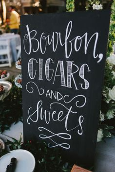 Wedding sign: http://www.stylemepretty.com/little-black-book-blog/2015/02/09/casual-elegance-in-santa-rosa-beach/ | Photography: W&E - http://wephotographie.com/