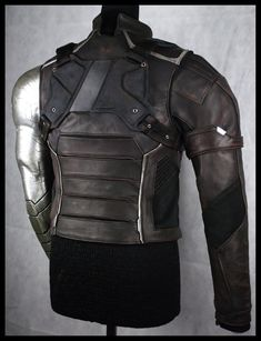 Cosplay Diy, Cosplay Ideas, Winter Soldier Cosplay, Marvel Clothes, Character Aesthetic, Dark Brown Leather, Captain America, Cool Outfits, Halloween Costumes