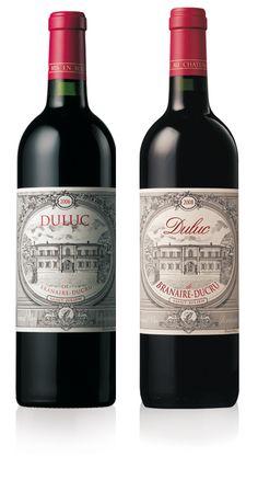 label / Duluc - wine