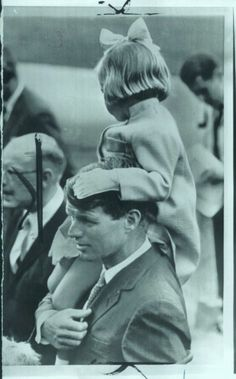 Bobby with his daughter Kerry