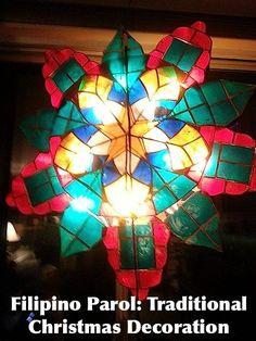 christmas all around  .. X ღɱɧღ || Christmas in the Philippines parol decoration ❤️