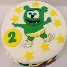 Gummy Bear Cakes, Gummy Bears, Bear Birthday, Birthday Cake, Cake Fondant, Desserts, Food, Tailgate Desserts, Deserts