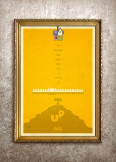 Up 27x40 Theatrical Size Movie Poster by adamrabalais on Etsy, $50.00