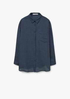 Camisa estampada fluida | MANGO
